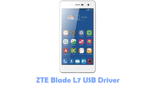 Download ZTE Blade L7 USB Driver