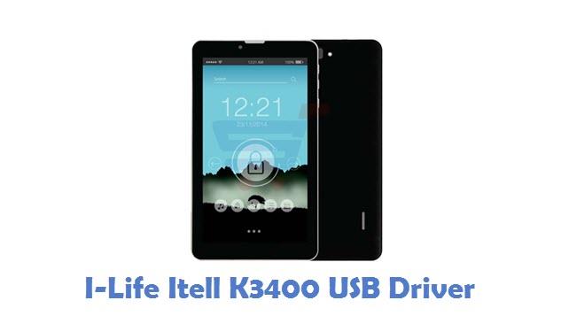 I-Life Itell K3400 USB Driver
