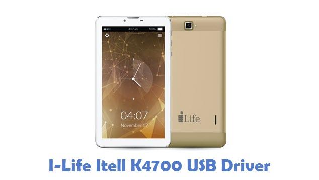 I-Life Itell K4700 USB Driver