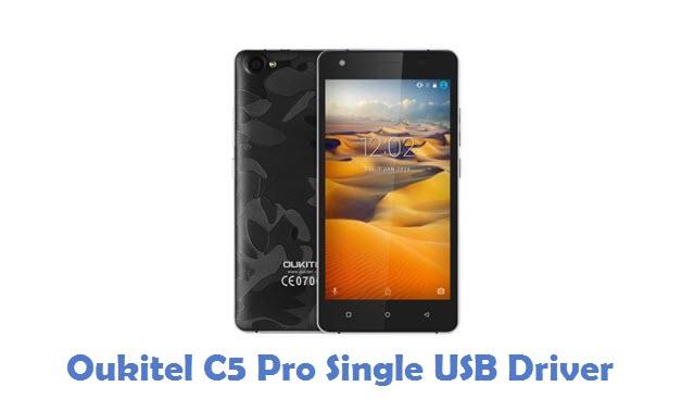 Oukitel C5 Pro Single USB Driver