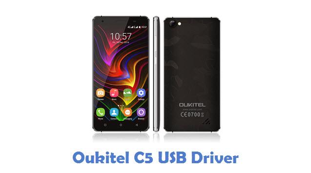 Oukitel C5 USB Driver
