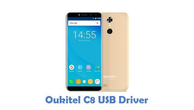 Oukitel C8 USB Driver