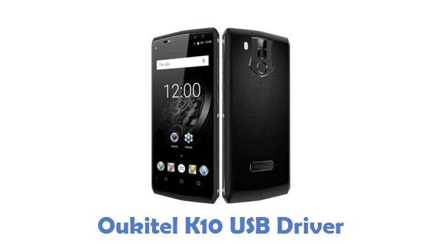 Oukitel K10 USB Driver