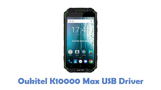 Oukitel K10000 Max USB Driver