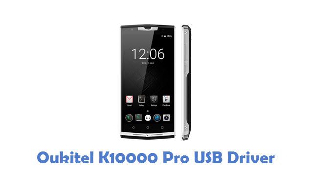 Oukitel K10000 Pro USB Driver