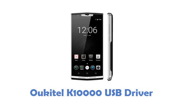 Oukitel K10000 USB Driver