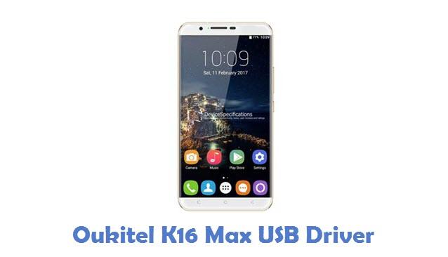 Oukitel K16 Max USB Driver
