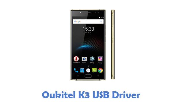 Oukitel K3 USB Driver