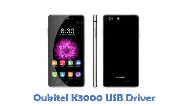 Oukitel K3000 USB Driver