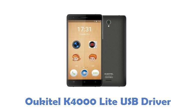 Oukitel K4000 Lite USB Driver