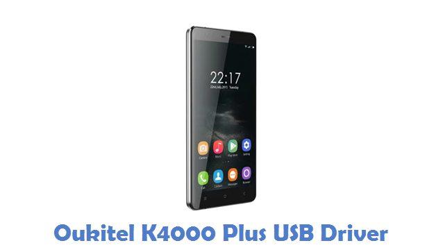 Oukitel K4000 Plus USB Driver