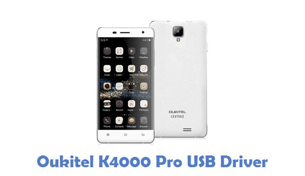 Oukitel K4000 Pro USB Driver
