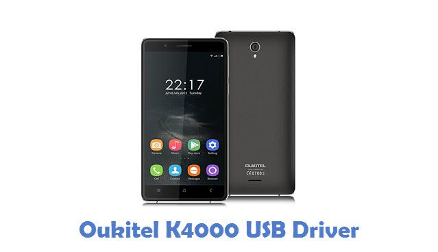Oukitel K4000 USB Driver