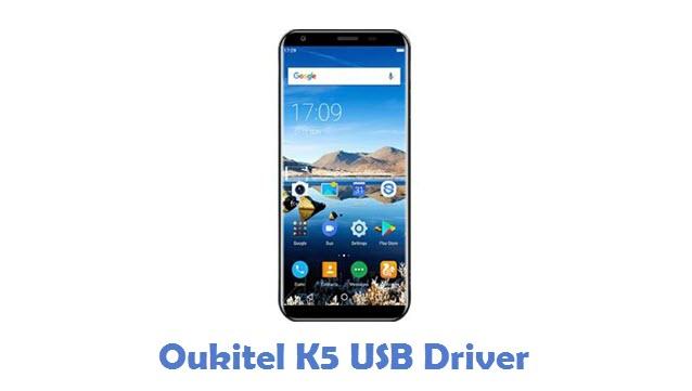 Oukitel K5 USB Driver