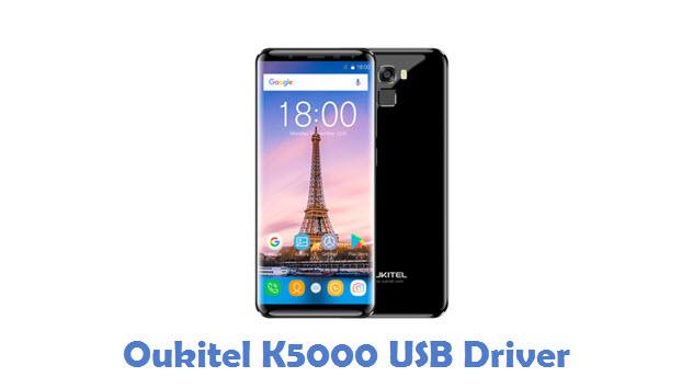Oukitel K5000 USB Driver