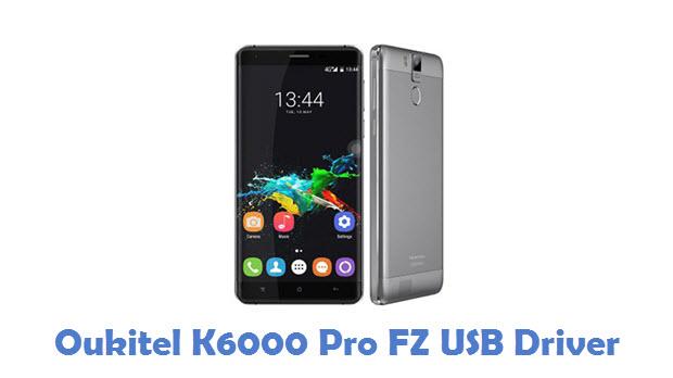 Oukitel K6000 Pro FZ USB Driver