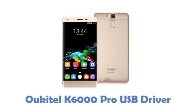 Oukitel K6000 Pro USB Driver