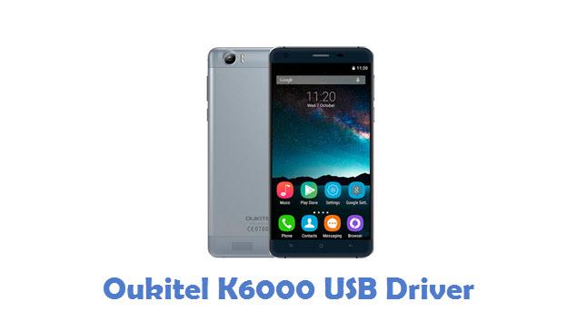 Oukitel K6000 USB Driver
