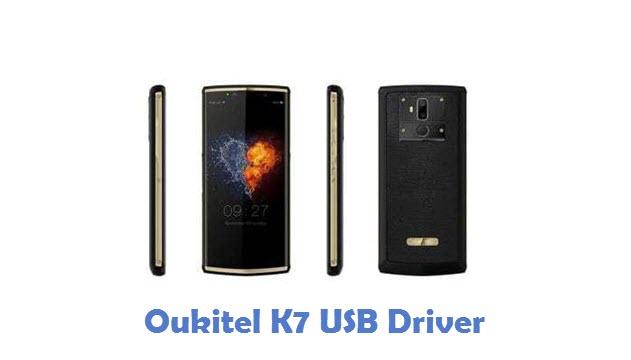 Oukitel K7 USB Driver