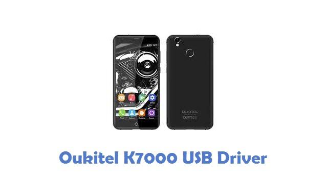 Oukitel K7000 USB Driver