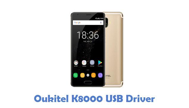 Oukitel K8000 USB Driver