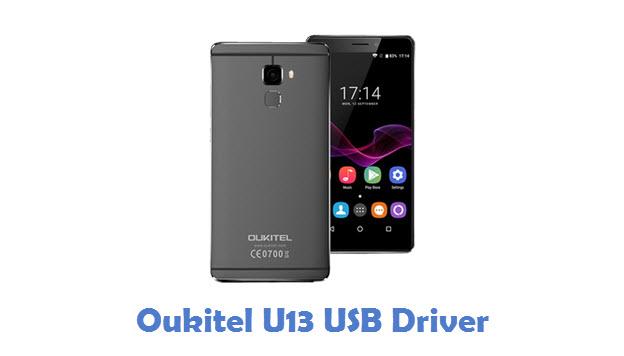 Oukitel U13 USB Driver