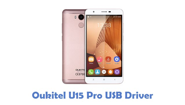Oukitel U15 Pro USB Driver