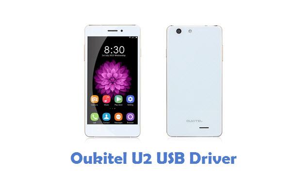 Oukitel U2 USB Driver