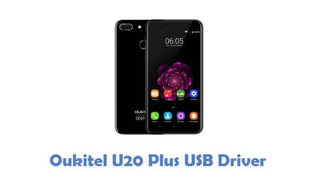 Oukitel U20 Plus USB Driver
