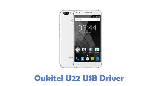 Oukitel U22 USB Driver