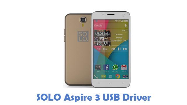 SOLO Aspire 3 USB Driver