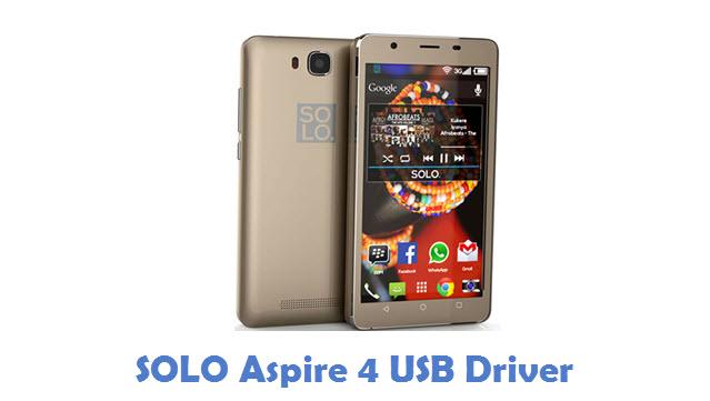 SOLO Aspire 4 USB Driver