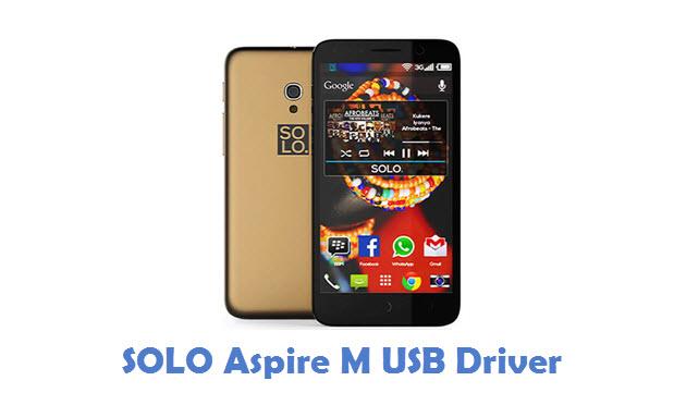 SOLO Aspire M USB Driver