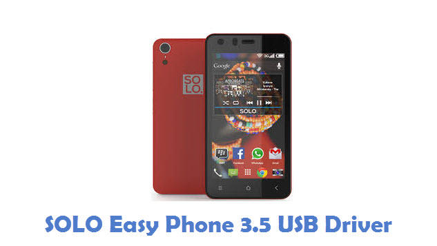 SOLO Easy Phone 3.5 USB Driver