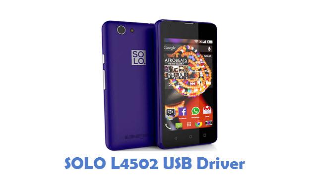 SOLO L4502 USB Driver
