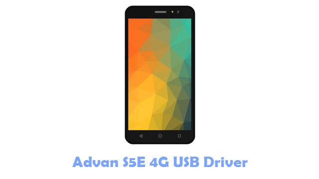 Advan S5E 4G USB Driver