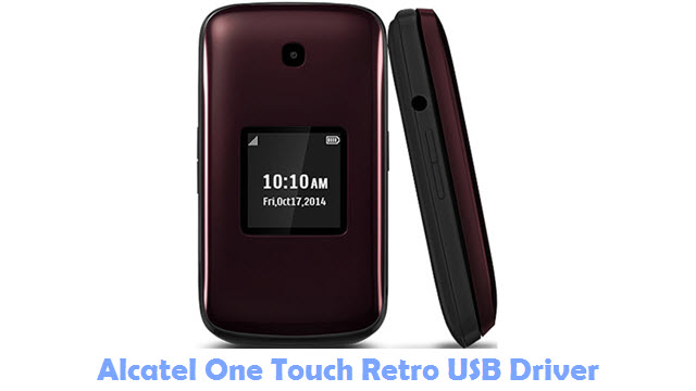 Download Alcatel One Touch Retro USB Driver