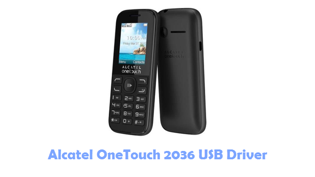 Download Alcatel OneTouch 2036 USB Driver