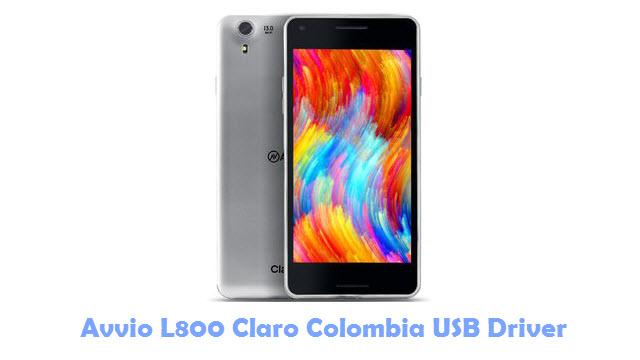 Avvio L800 Claro Colombia USB Driver