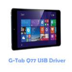 Download G-Tab Q77 USB Driver