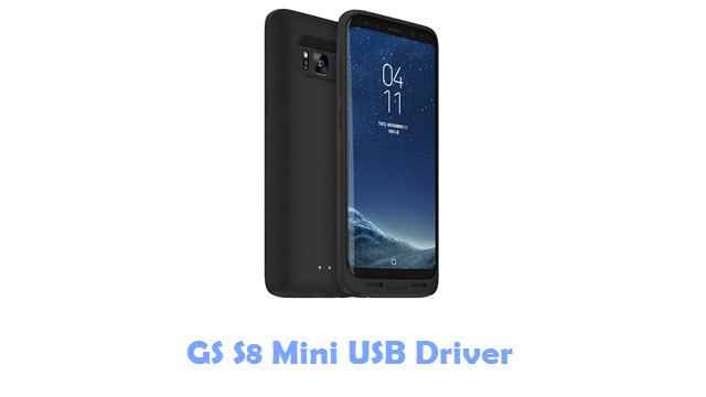 GS S8 Mini USB Driver