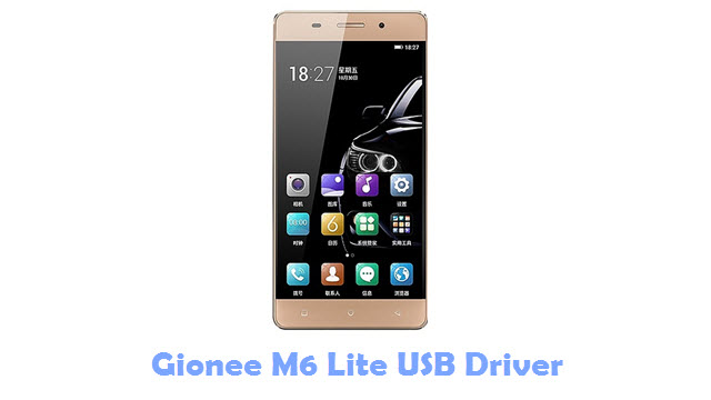 Download Gionee M6 Lite USB Driver