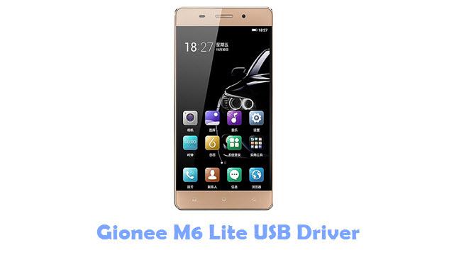 Gionee M6 Lite USB Driver