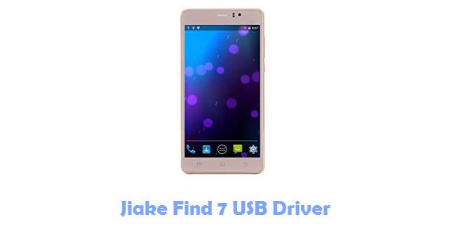 Jiake Find 7 USB Driver