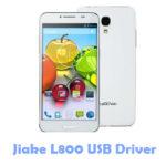 Jiake L800 USB Driver