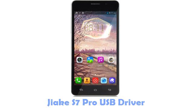 Jiake S7 Pro USB Driver