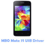 Download MBO Mate 7S USB Driver