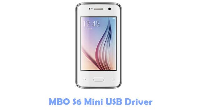 MBO S6 Mini USB Driver