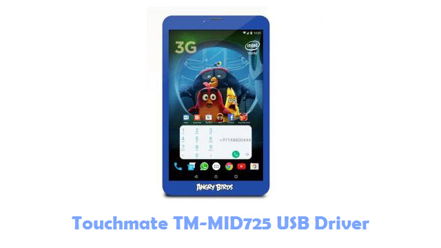 Download Touchmate TM-MID725 USB Driver