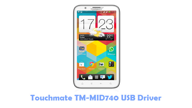 Download Touchmate TM-MID740 USB Driver